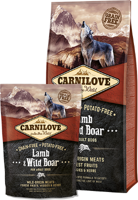 Lamb & Wild Boar for adult dogs